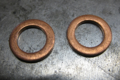 make earrings out of copper washers